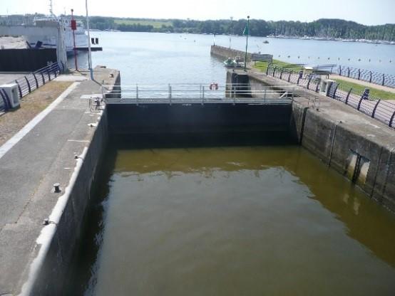 Mission de maitrise d'oeuvre pour les travaux de maintenance décennale de la vantellerie de l'écluse du barrage d'Arzal